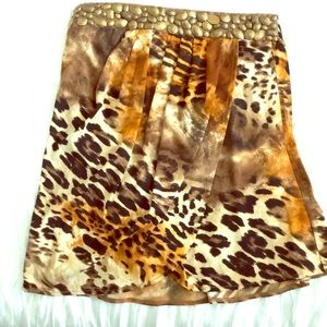Cache Leopard Print Tube Top
